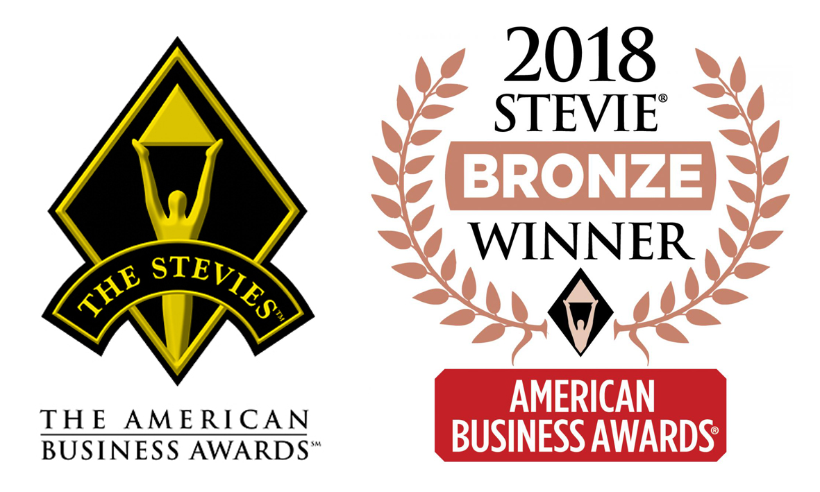 Jess Dewell Honored as Bronz Stevie® Award Winner in 2018