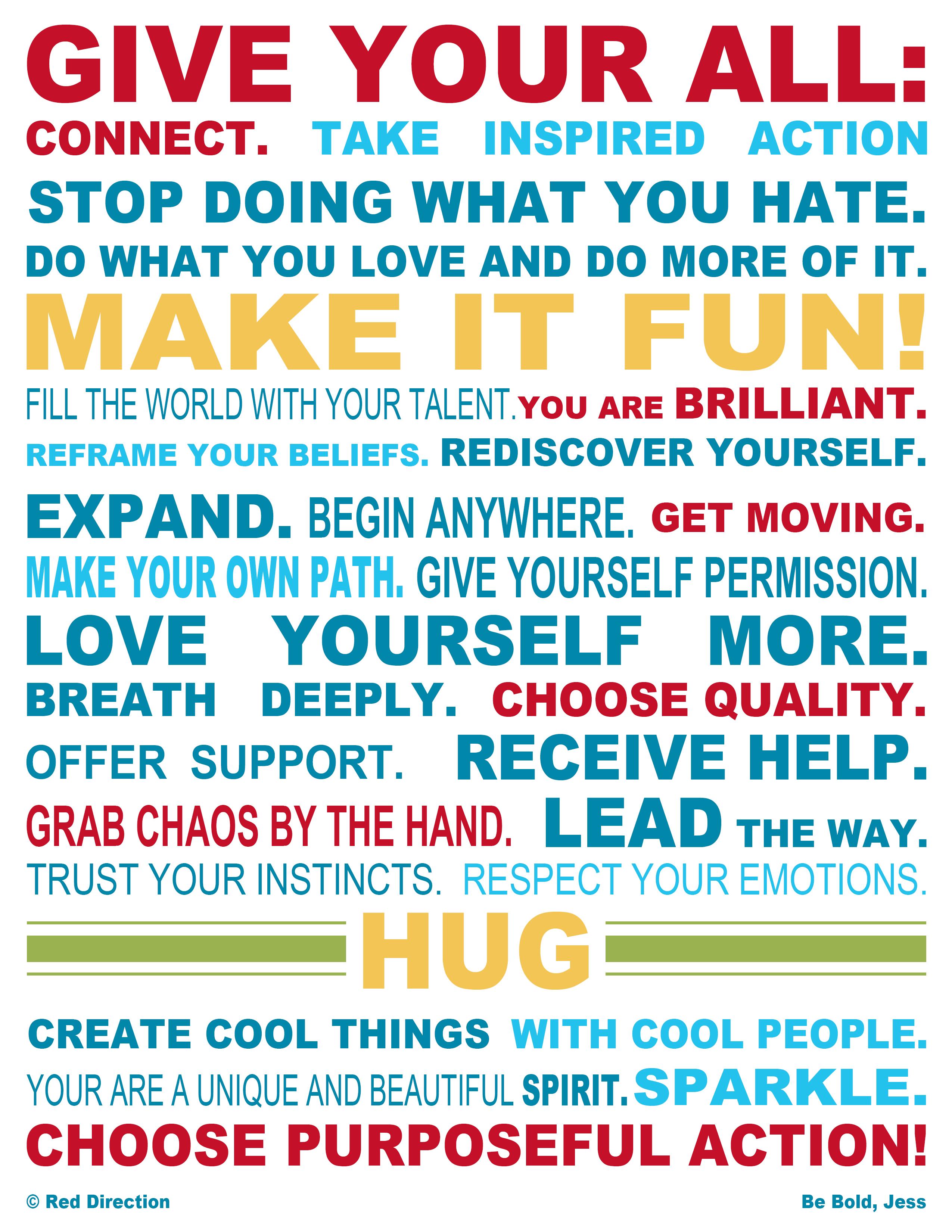Red Direction Manifesto