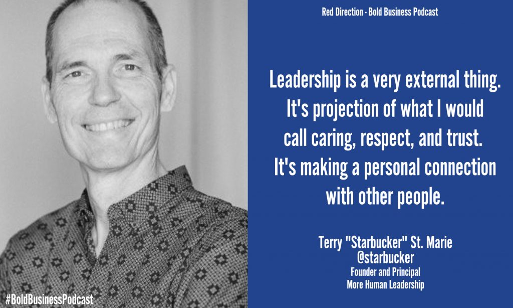 "Terry ""Starbucker"" St. Marie Improve Leadership"