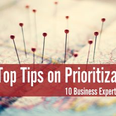 The Top Tips on Prioritization